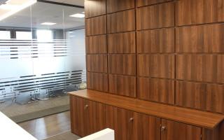 Schofield Sweeney Reception Storage